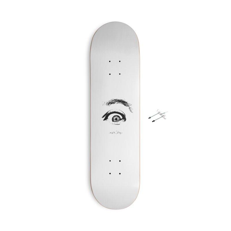 The Eye Accessories Skateboard by IgorPose's Artist Shop