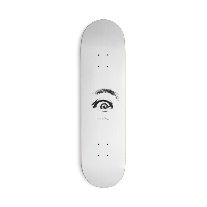 The Eye Accessories Deck Only Skateboard by IgorPose's Artist Shop