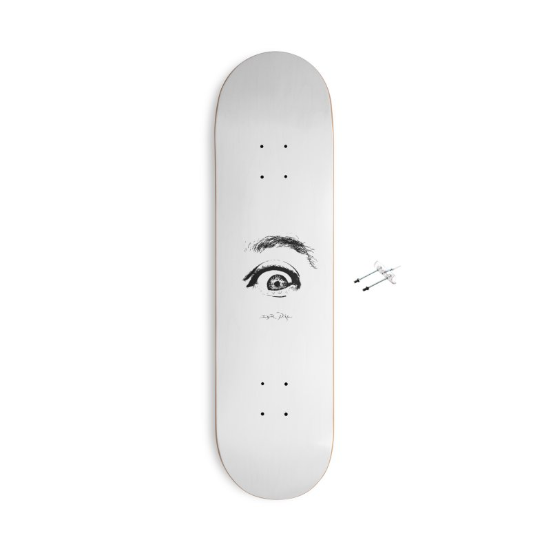 The Eye Accessories With Hanging Hardware Skateboard by IgorPose's Artist Shop