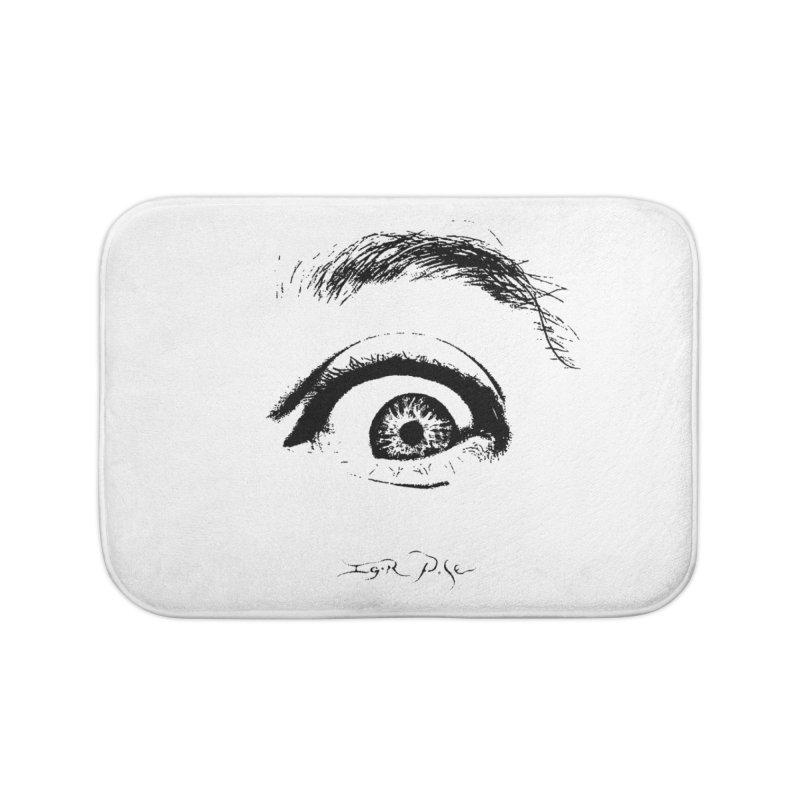 The Eye Home Bath Mat by IgorPose's Artist Shop