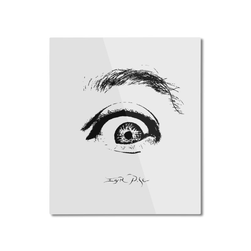 The Eye Home Mounted Aluminum Print by IgorPose's Artist Shop
