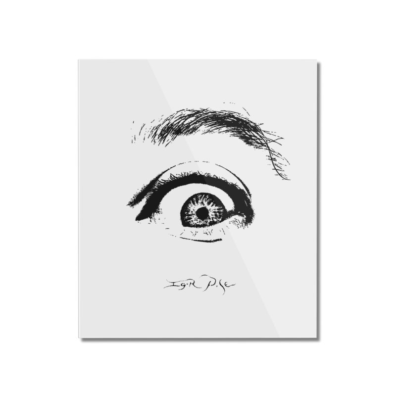 The Eye Home Mounted Acrylic Print by IgorPose's Artist Shop