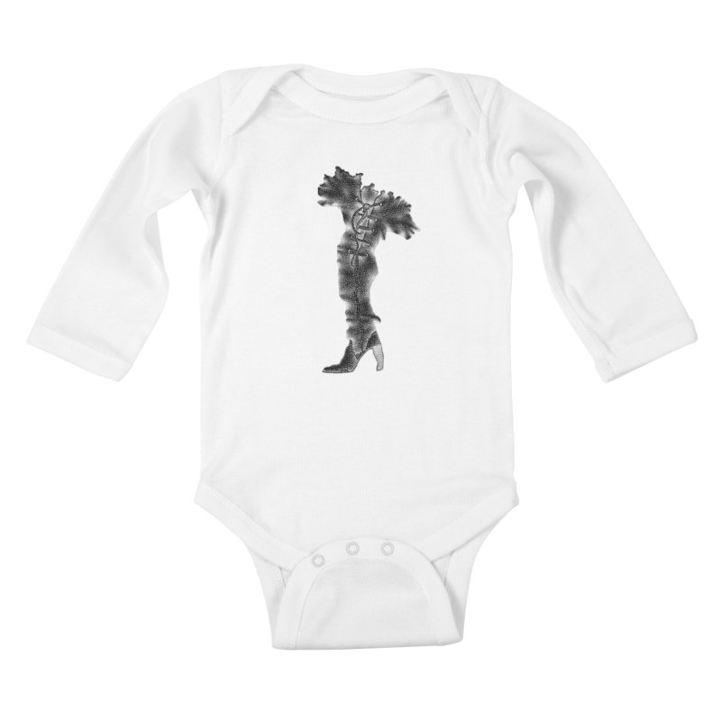 Footwear Land by Igor Pose Kids Baby Longsleeve Bodysuit by IgorPose's Artist Shop