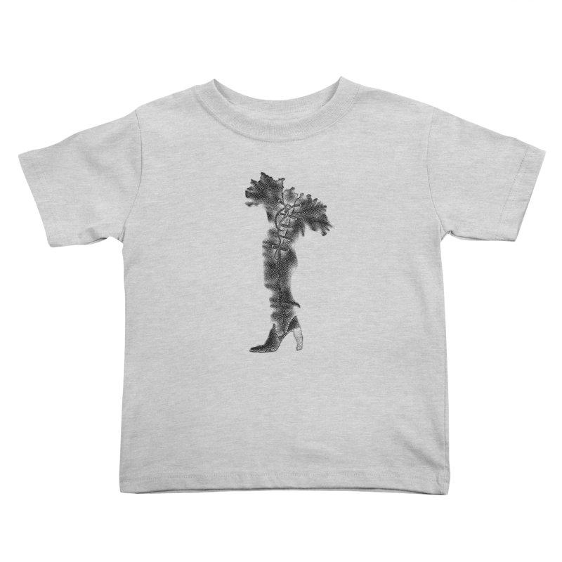 Footwear Land by Igor Pose Kids Toddler T-Shirt by IgorPose's Artist Shop