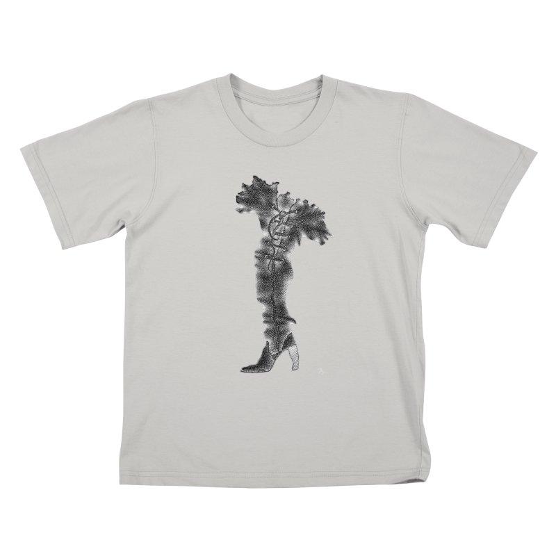 Footwear Land by Igor Pose Kids T-shirt by IgorPose's Artist Shop