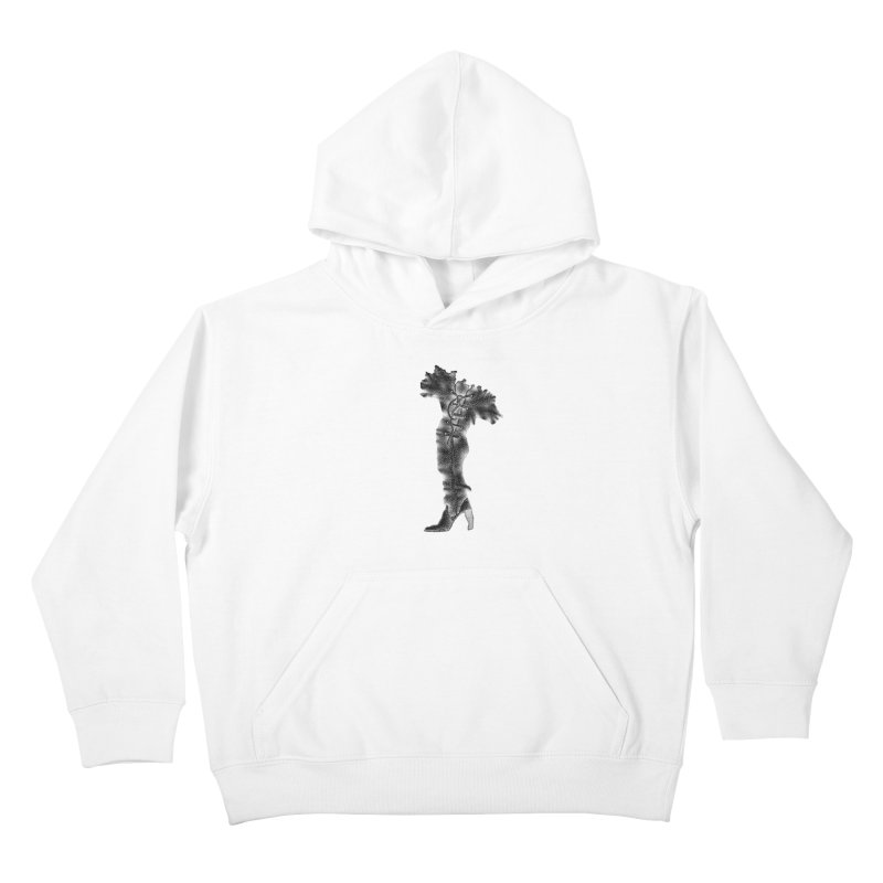 Footwear Land by Igor Pose Kids Pullover Hoody by IgorPose's Artist Shop