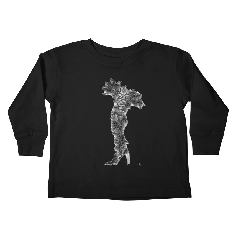 Footwear Land by Igor Pose Kids Toddler Longsleeve T-Shirt by IgorPose's Artist Shop
