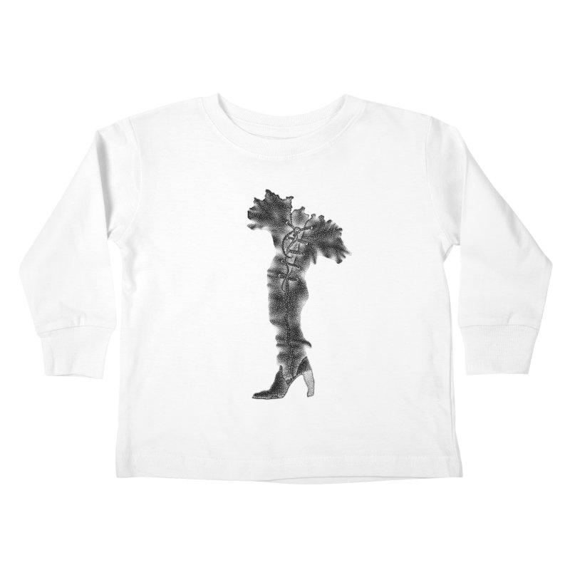 Footwear Land by Igor Pose Kids Toddler Longsleeve T-Shirt by IgorPose's Artist Shop