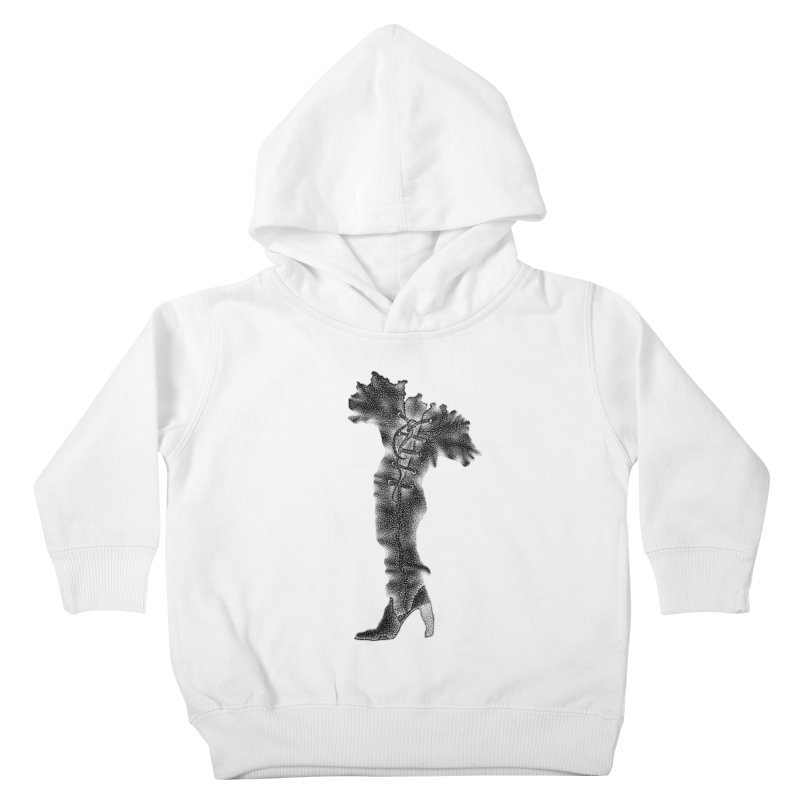 Footwear Land by Igor Pose Kids Toddler Pullover Hoody by IgorPose's Artist Shop