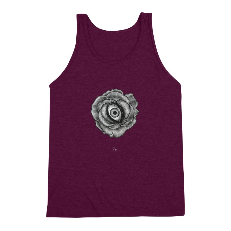 See You by Igor Pose Men's Triblend Tank by IgorPose's Artist Shop