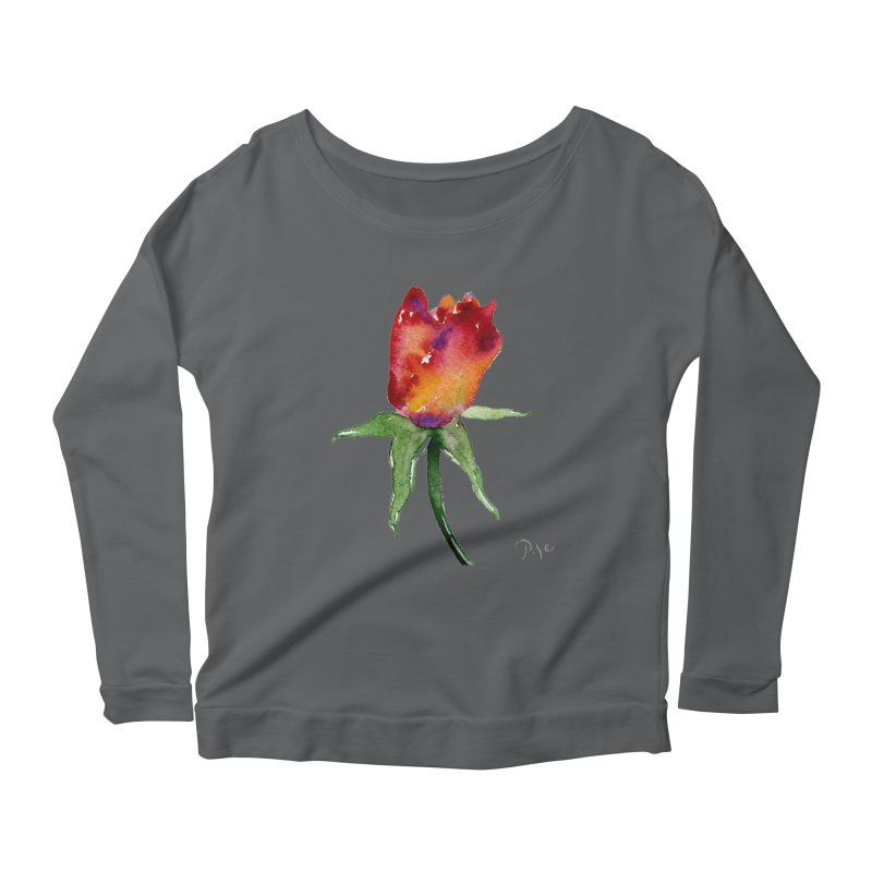 Innocence by Igor Pose Women's Longsleeve Scoopneck  by IgorPose's Artist Shop