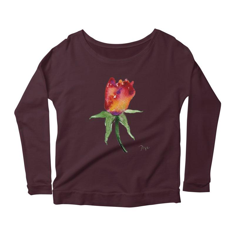 Innocence by Igor Pose Women's Scoop Neck Longsleeve T-Shirt by IgorPose's Artist Shop