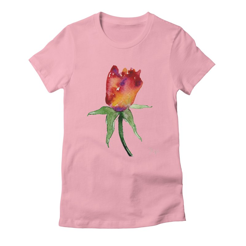Innocence by Igor Pose Women's Fitted T-Shirt by IgorPose's Artist Shop