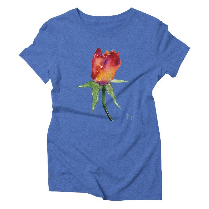 Innocence by Igor Pose Women's Triblend T-Shirt by IgorPose's Artist Shop
