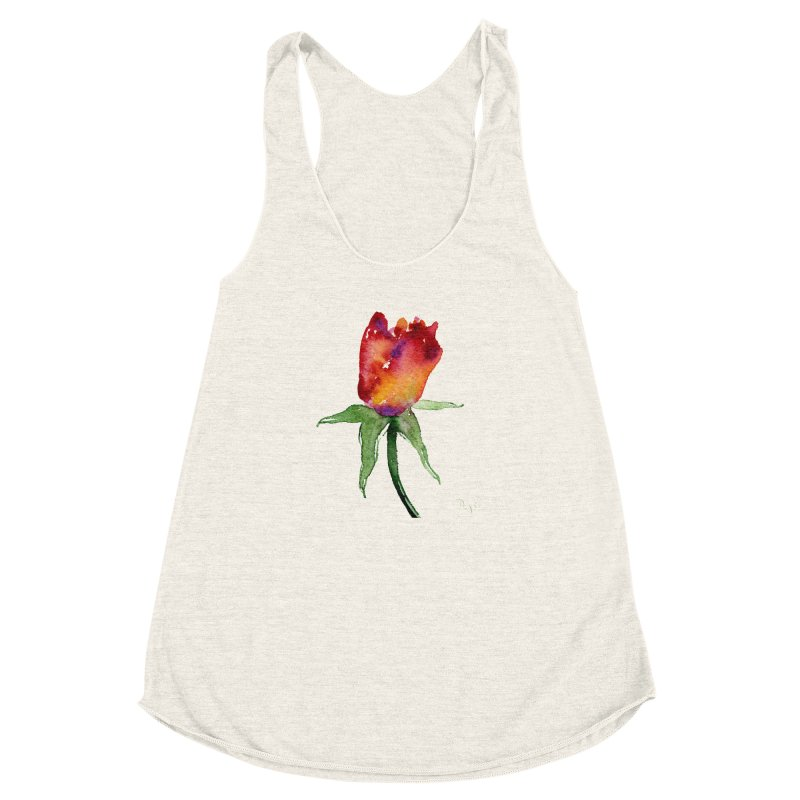 Innocence by Igor Pose Women's Racerback Triblend Tank by IgorPose's Artist Shop