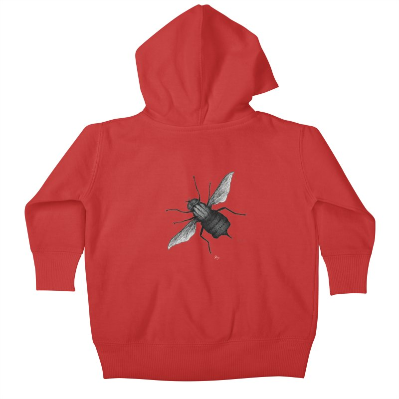 Suspension Points by Igor Pose Kids Baby Zip-Up Hoody by IgorPose's Artist Shop