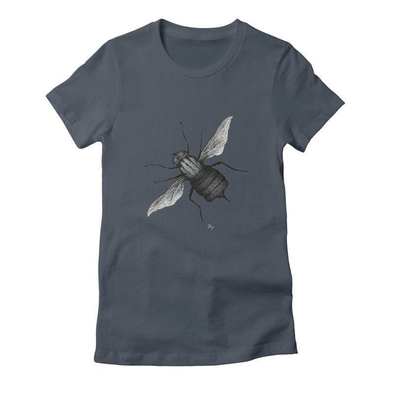 Suspension Points by Igor Pose Women's Fitted T-Shirt by IgorPose's Artist Shop