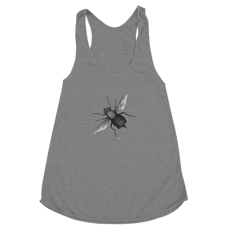 Suspension Points by Igor Pose Women's Racerback Triblend Tank by IgorPose's Artist Shop