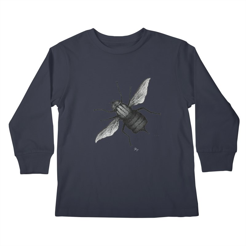Suspension Points by Igor Pose Kids Longsleeve T-Shirt by IgorPose's Artist Shop