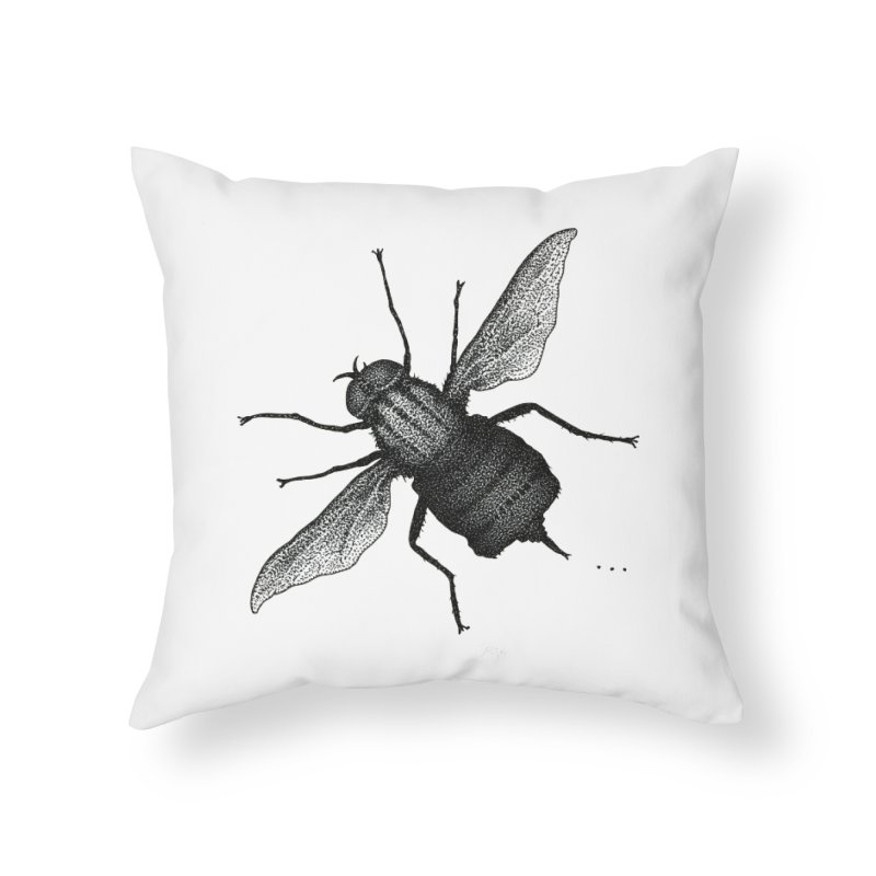Suspension Points by Igor Pose Home Throw Pillow by IgorPose's Artist Shop
