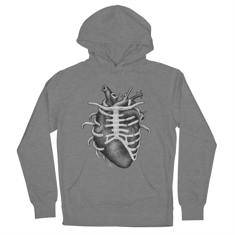 Big Heart by Igor Pose Men's French Terry Pullover Hoody by IgorPose's Artist Shop