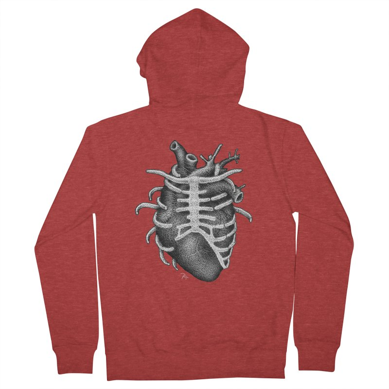 Big Heart by Igor Pose Women's Zip-Up Hoody by IgorPose's Artist Shop