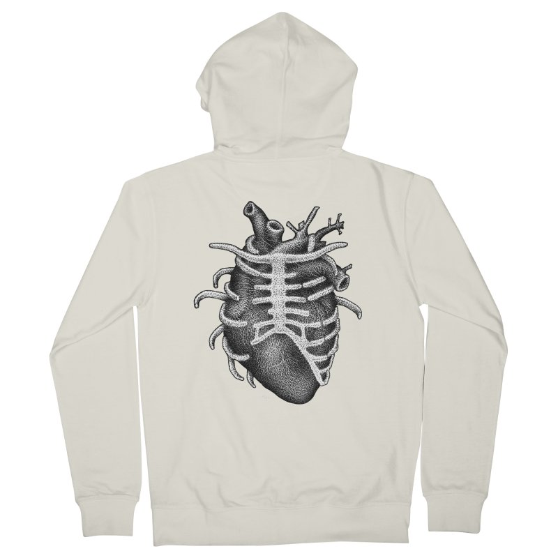 Big Heart by Igor Pose Women's Zip-Up Hoody by IgorPose's Artist Shop