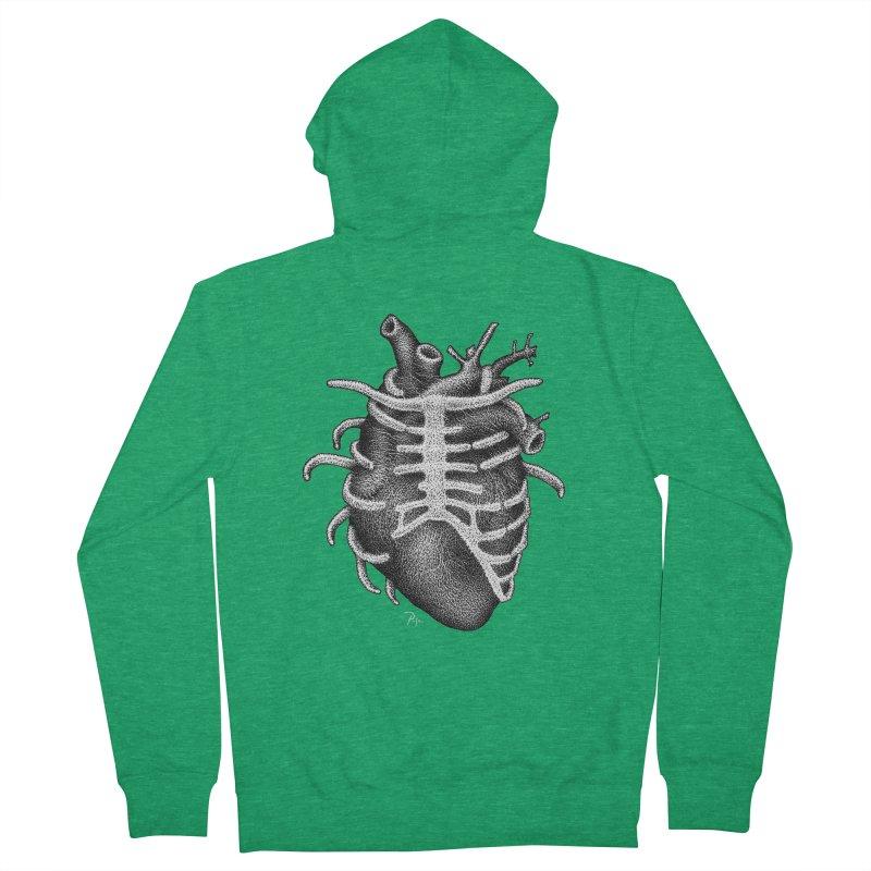 Big Heart by Igor Pose Men's Zip-Up Hoody by IgorPose's Artist Shop