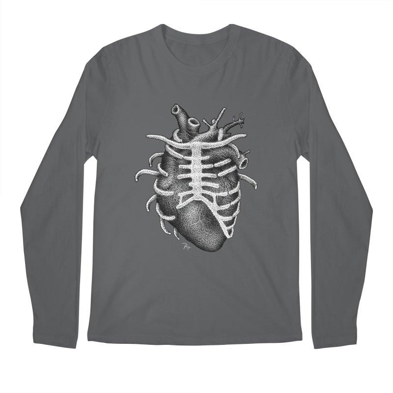 Big Heart by Igor Pose Men's Longsleeve T-Shirt by IgorPose's Artist Shop
