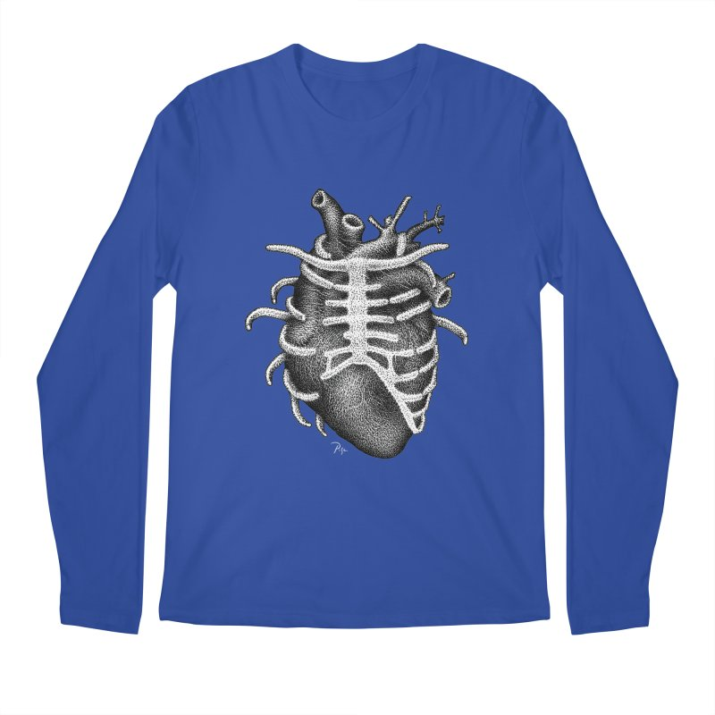 Big Heart by Igor Pose Men's Regular Longsleeve T-Shirt by IgorPose's Artist Shop
