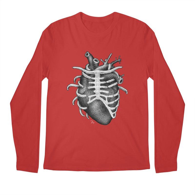 Big Heart by Igor Pose Men's Regular Longsleeve T-Shirt by IgorPose's Artist Shop