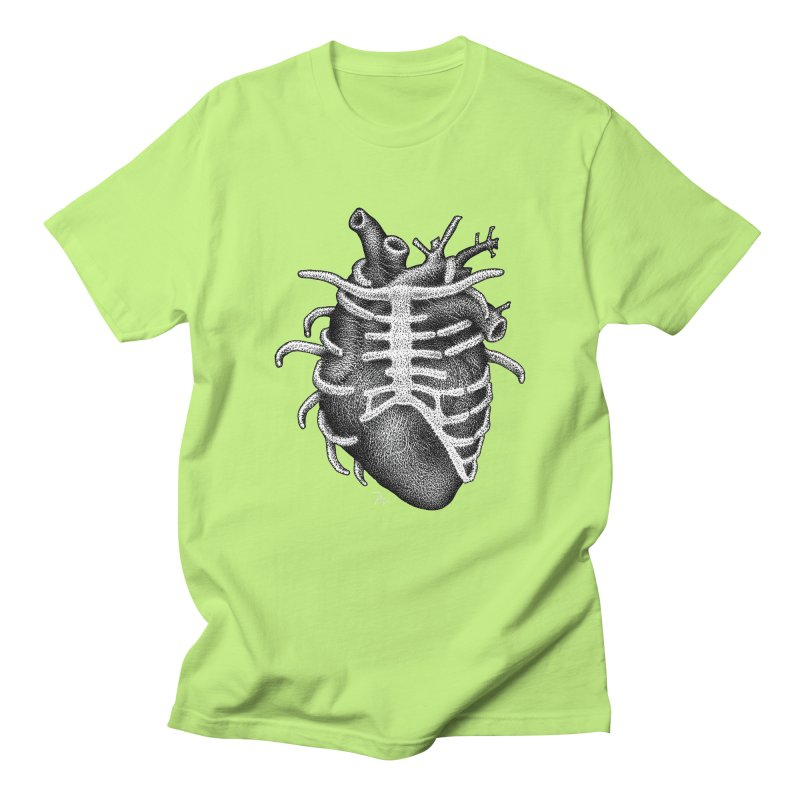 Big Heart by Igor Pose Men's Regular T-Shirt by IgorPose's Artist Shop