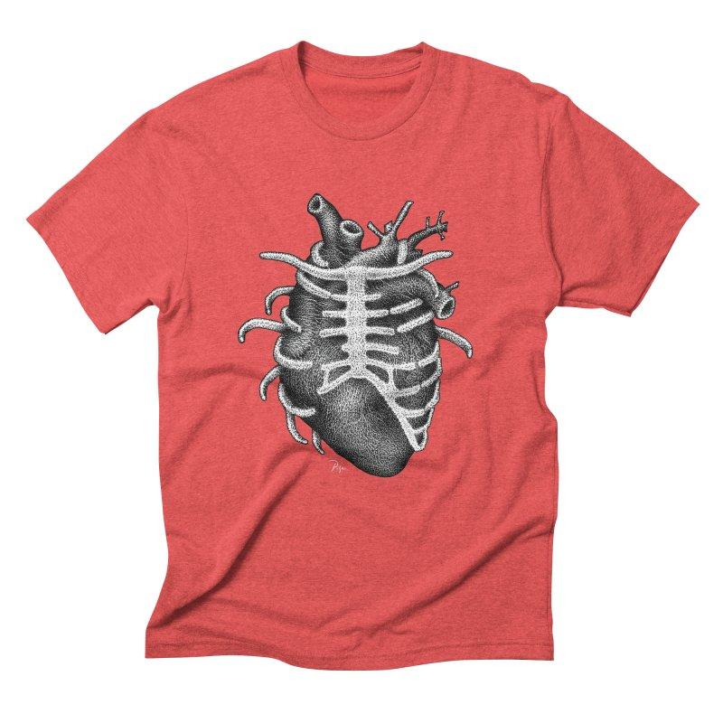 Big Heart by Igor Pose Men's Triblend T-Shirt by IgorPose's Artist Shop
