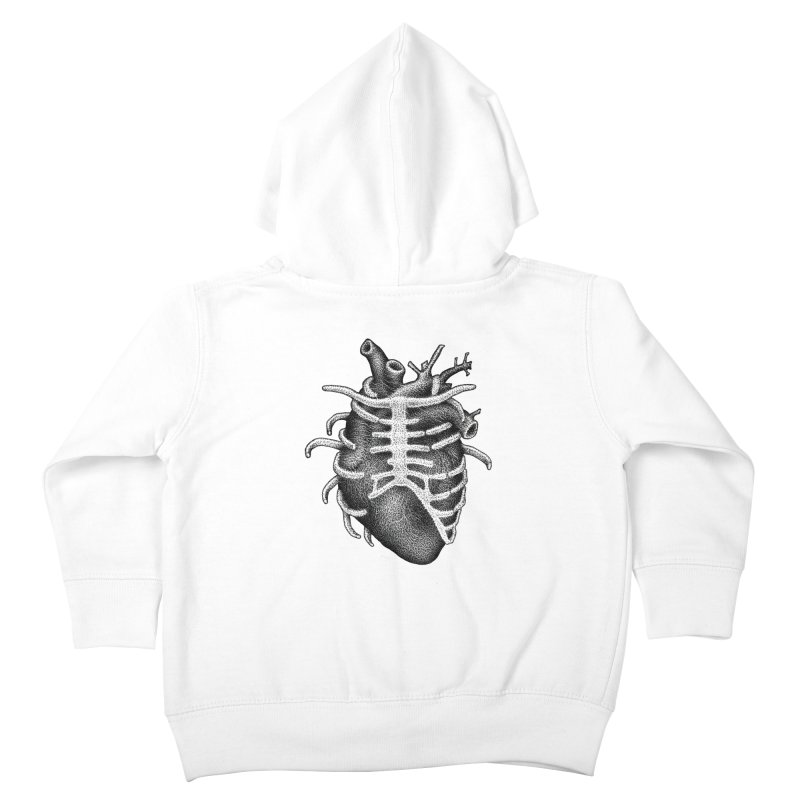 Big Heart by Igor Pose Kids Toddler Zip-Up Hoody by IgorPose's Artist Shop