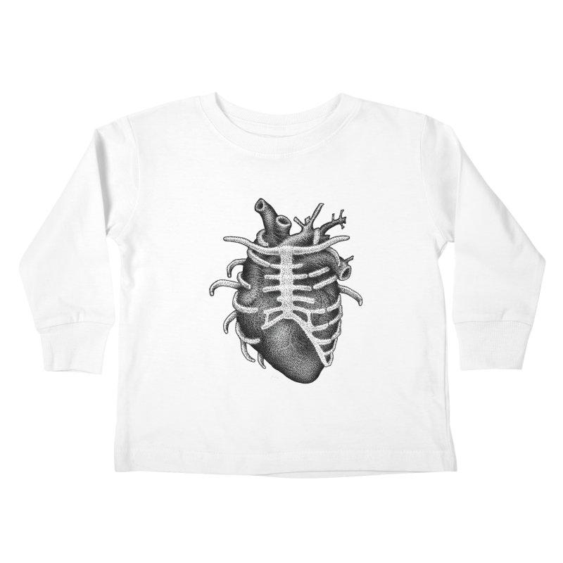 Big Heart by Igor Pose Kids Toddler Longsleeve T-Shirt by IgorPose's Artist Shop