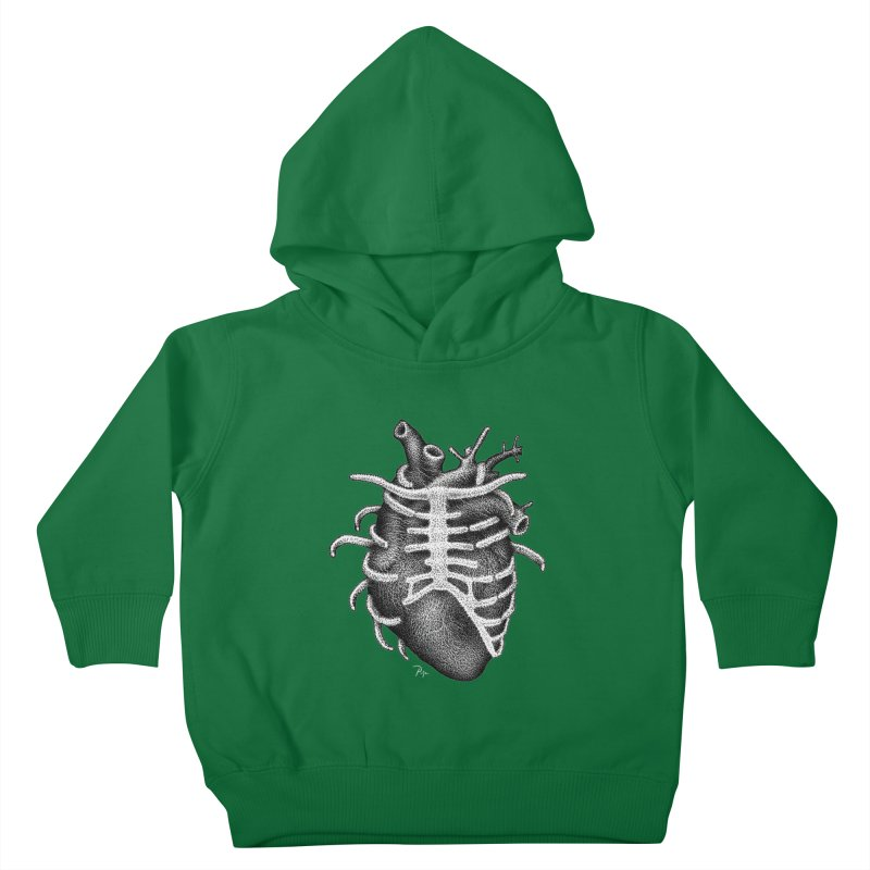Big Heart by Igor Pose Kids Toddler Pullover Hoody by IgorPose's Artist Shop