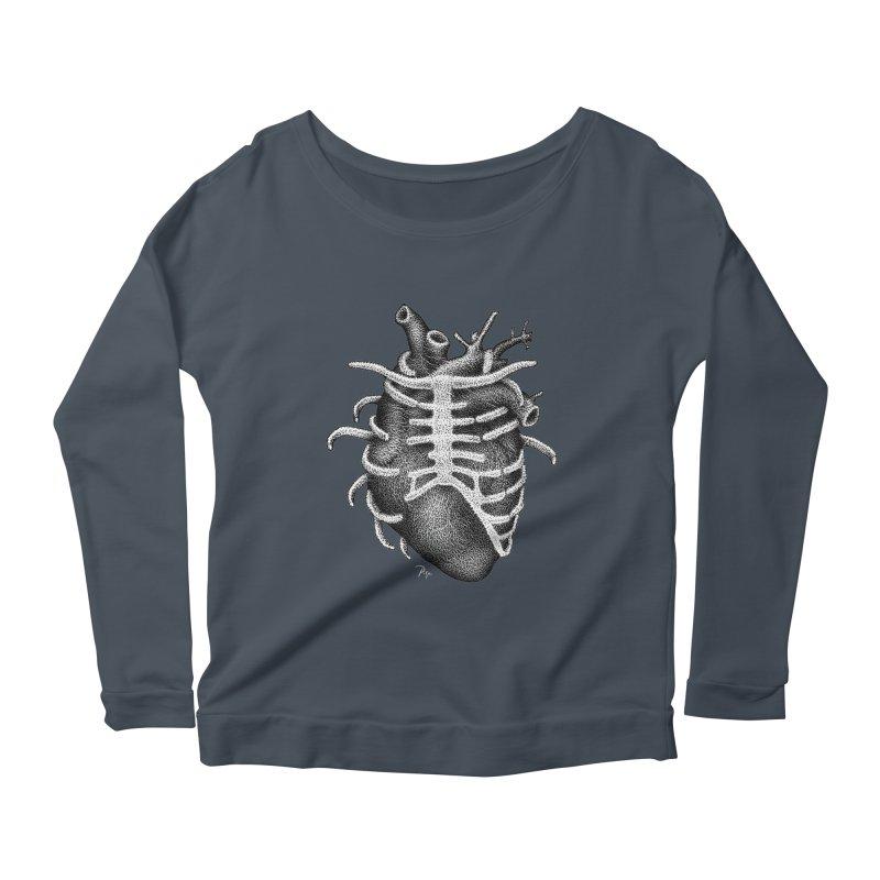 Big Heart by Igor Pose Women's Scoop Neck Longsleeve T-Shirt by IgorPose's Artist Shop