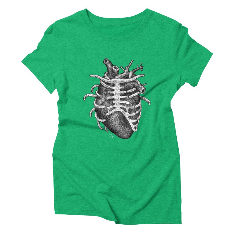 Big Heart by Igor Pose Women's Triblend T-Shirt by IgorPose's Artist Shop