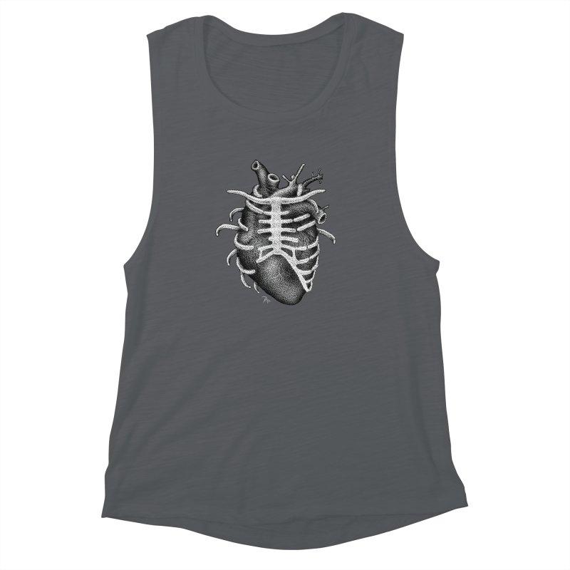Big Heart by Igor Pose Women's Muscle Tank by IgorPose's Artist Shop