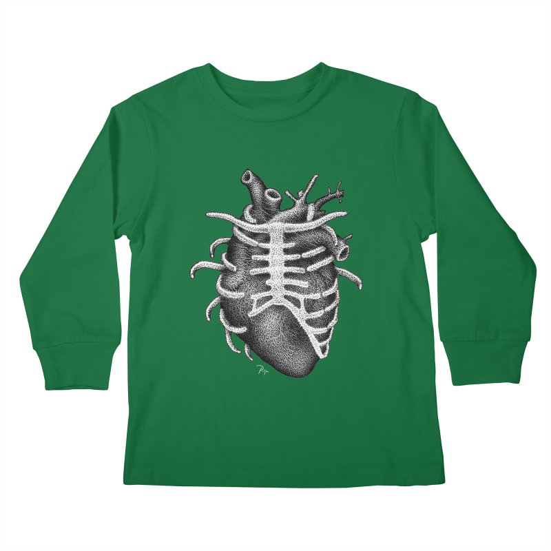 Big Heart by Igor Pose Kids Longsleeve T-Shirt by IgorPose's Artist Shop