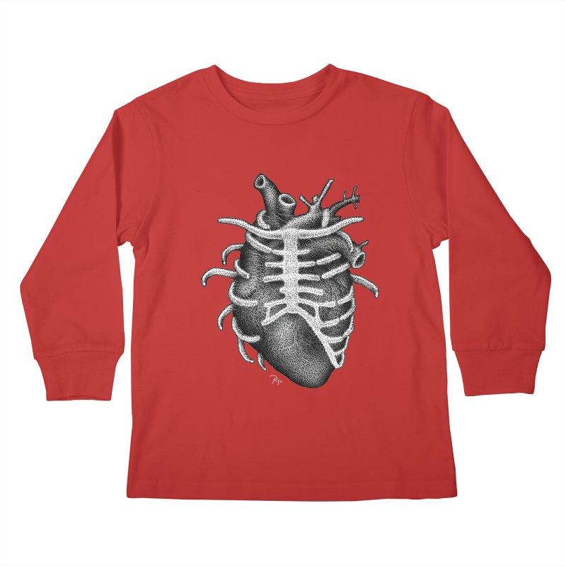 Big Heart by Igor Pose Kids Longsleeve T-Shirt by IgorPose's Artist Shop