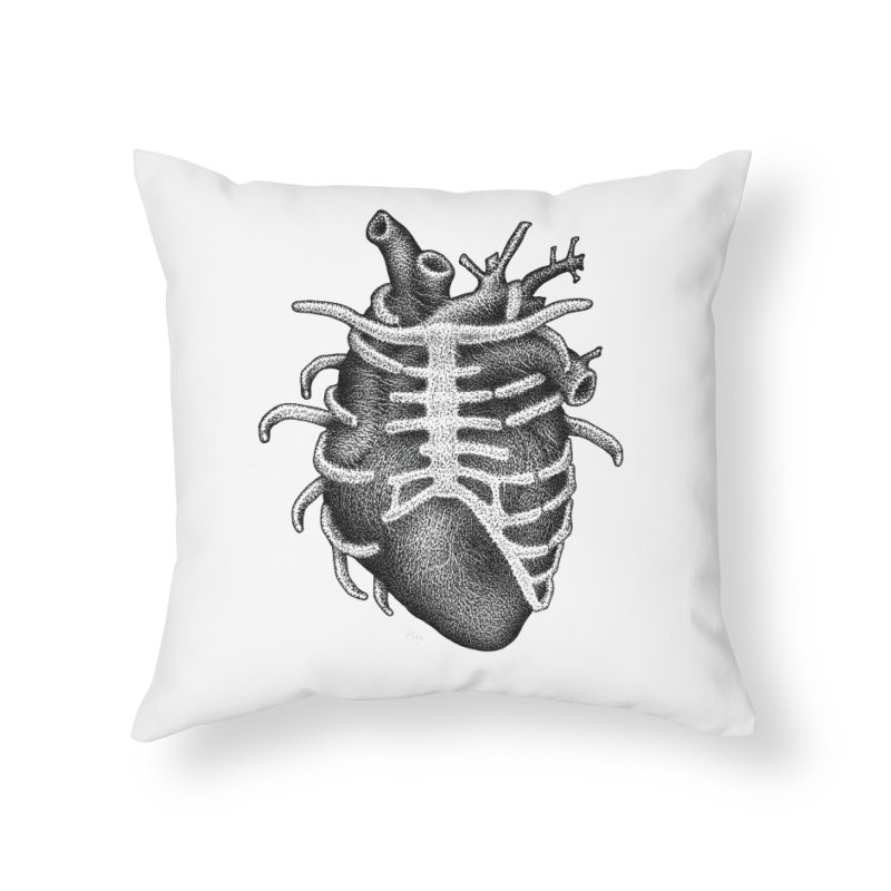 Big Heart by Igor Pose Home Throw Pillow by IgorPose's Artist Shop