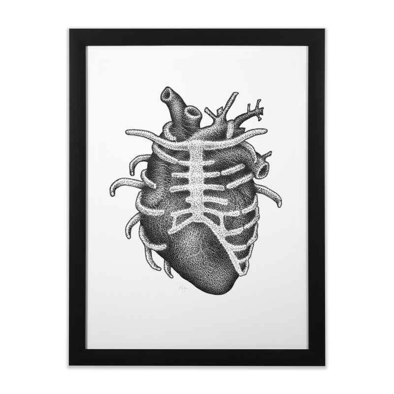 Big Heart by Igor Pose Home Framed Fine Art Print by IgorPose's Artist Shop