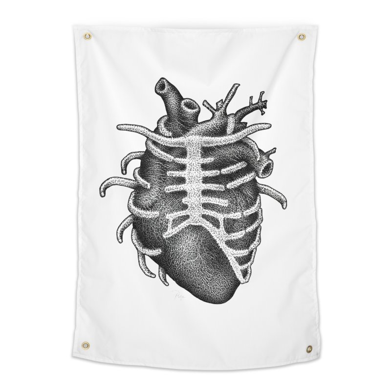 Big Heart by Igor Pose Home Tapestry by IgorPose's Artist Shop
