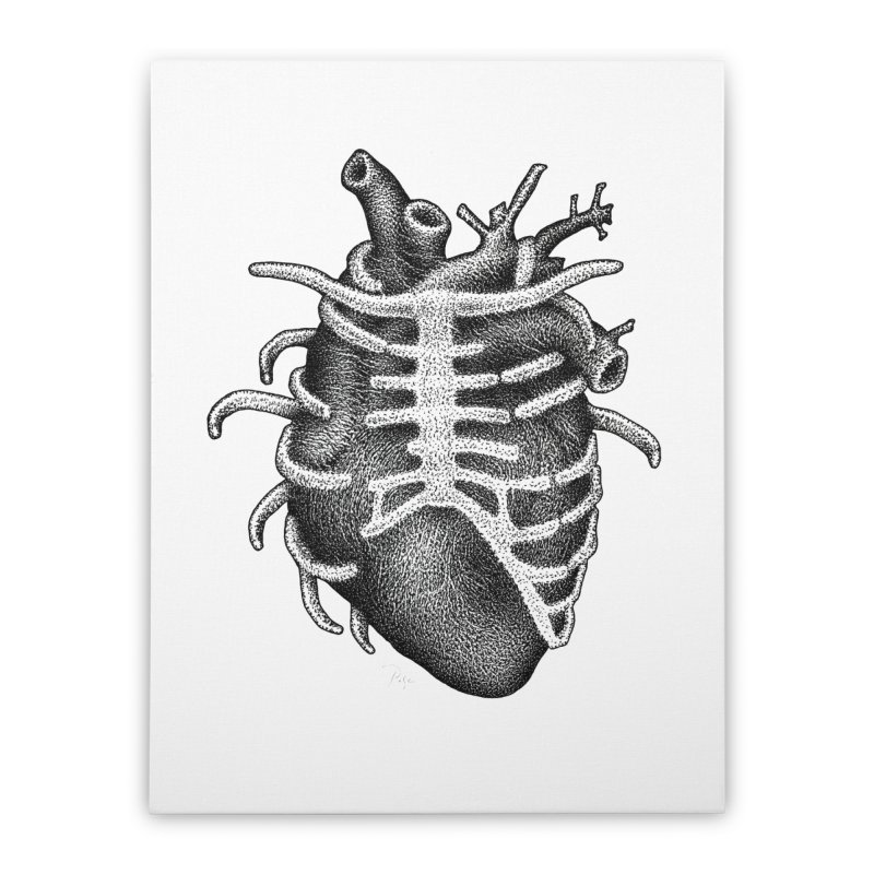 Big Heart by Igor Pose Home Stretched Canvas by IgorPose's Artist Shop