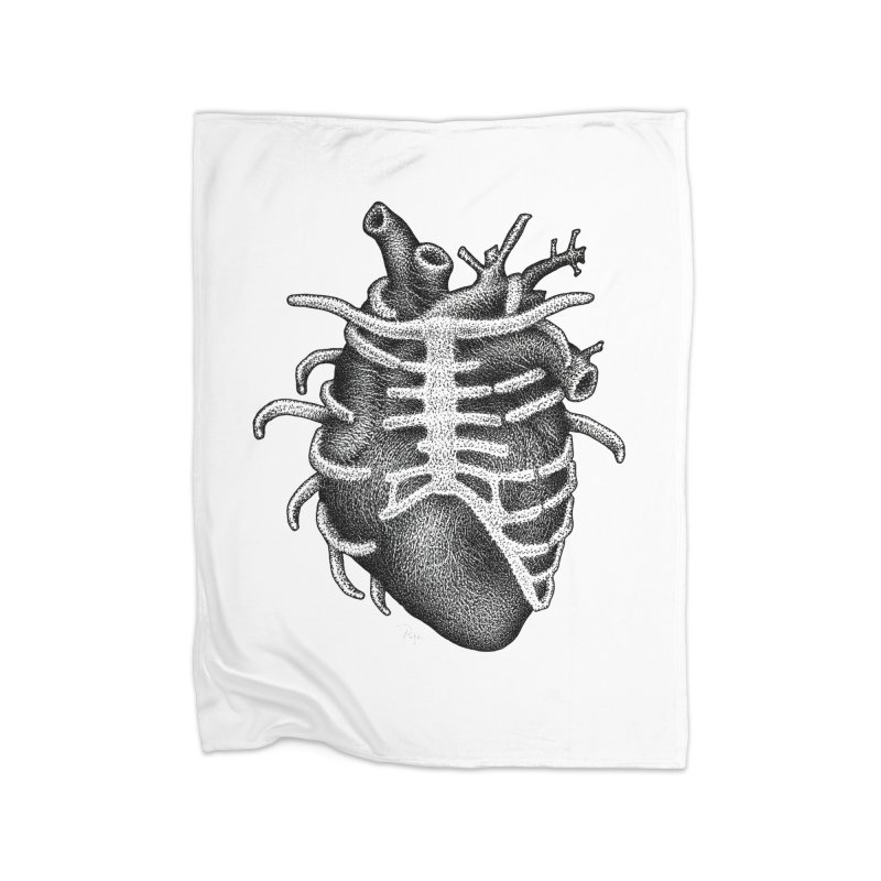 Big Heart by Igor Pose Home Blanket by IgorPose's Artist Shop