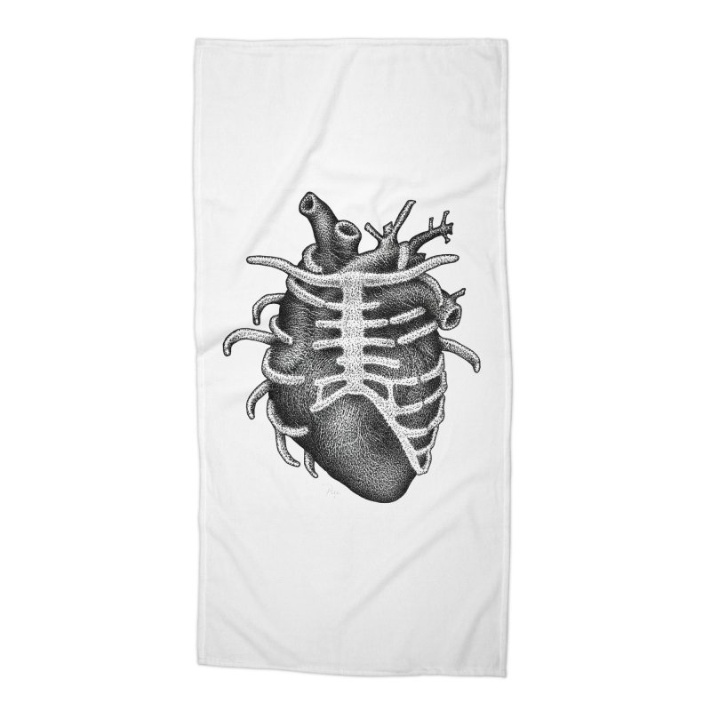 Big Heart by Igor Pose Accessories Beach Towel by IgorPose's Artist Shop