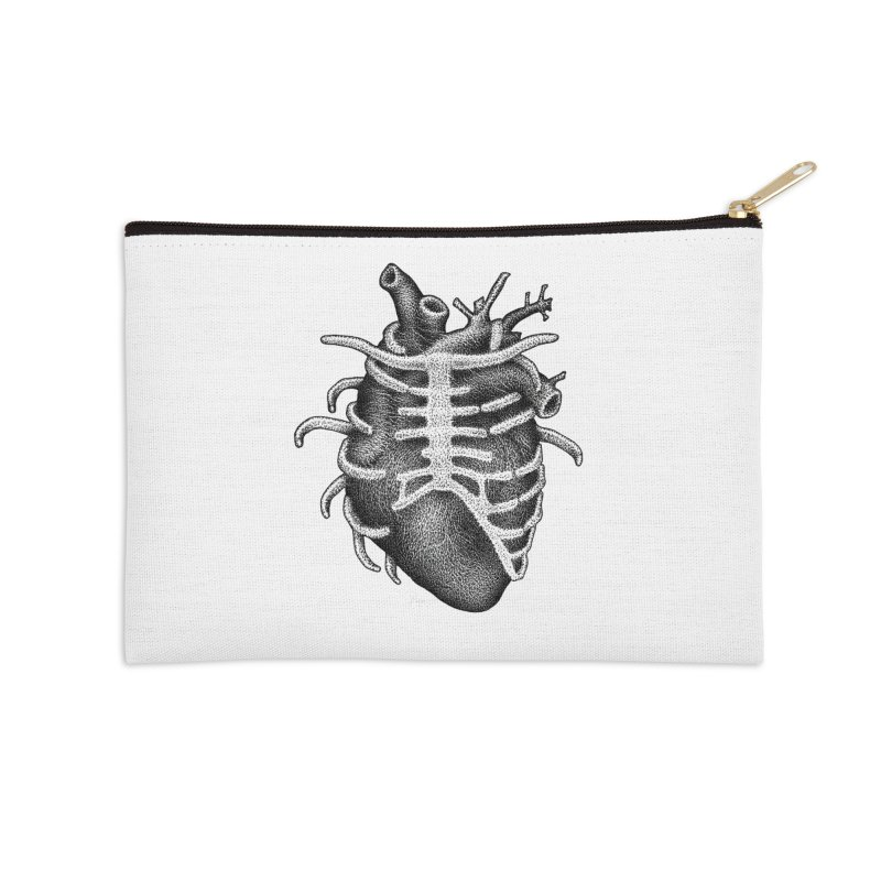 Big Heart by Igor Pose Accessories Zip Pouch by IgorPose's Artist Shop