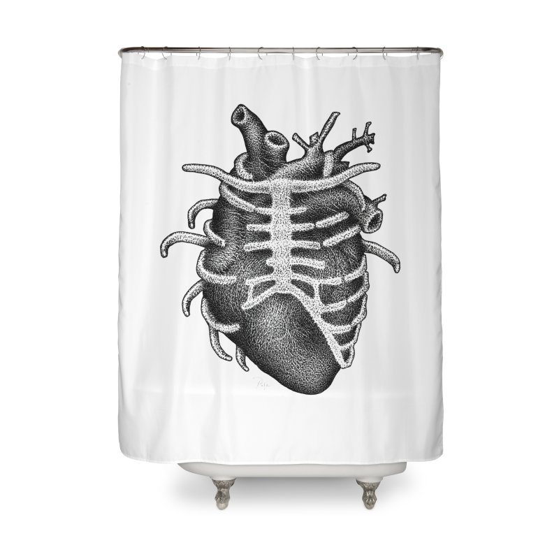 Big Heart by Igor Pose Home Shower Curtain by IgorPose's Artist Shop