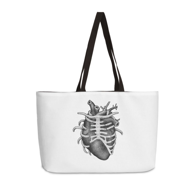 Big Heart by Igor Pose Accessories Weekender Bag Bag by IgorPose's Artist Shop